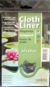 Velda Cloth Liner (Einlegetuch) 60 * 60 cm
