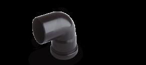 Oase Verbindungsbogen schwarz DN75/87°