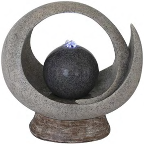Ball in Circle Wasserspiel 37,3 x 21,3 x 35,7 cm