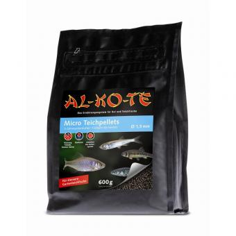 AL-KO-TE Micro Teichpellets 1,5 mm 600 g Tüte