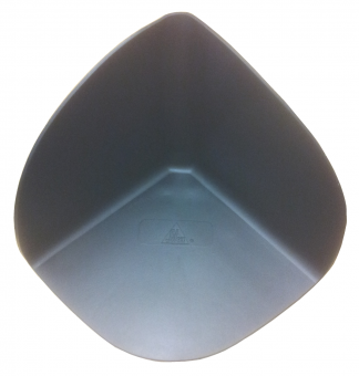 PVC Innenecke schwarz 1 mm