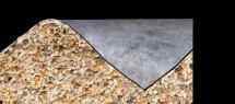 Oase Steinfolie sand 0,6 m breit Meterware