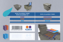Oase Ersatzschwamm Set rot/violett BioTec ScreenMatic 12 und BioTec ScreenMatic² 40000 / 90000