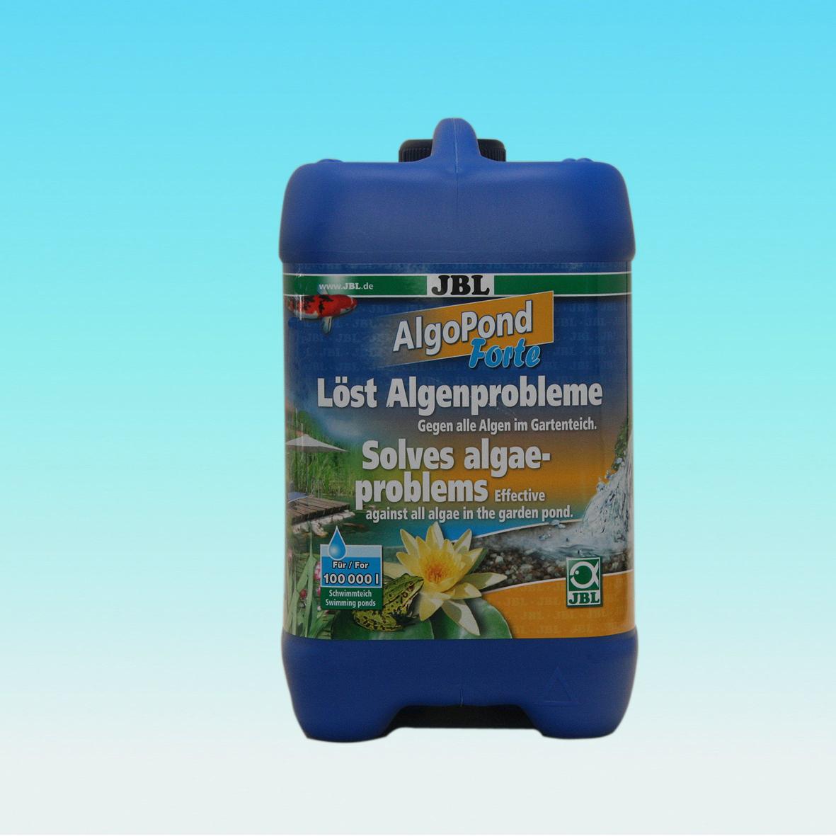 Jbl algopond forte 5 l preisvergleich for Kupfer gegen algen im gartenteich