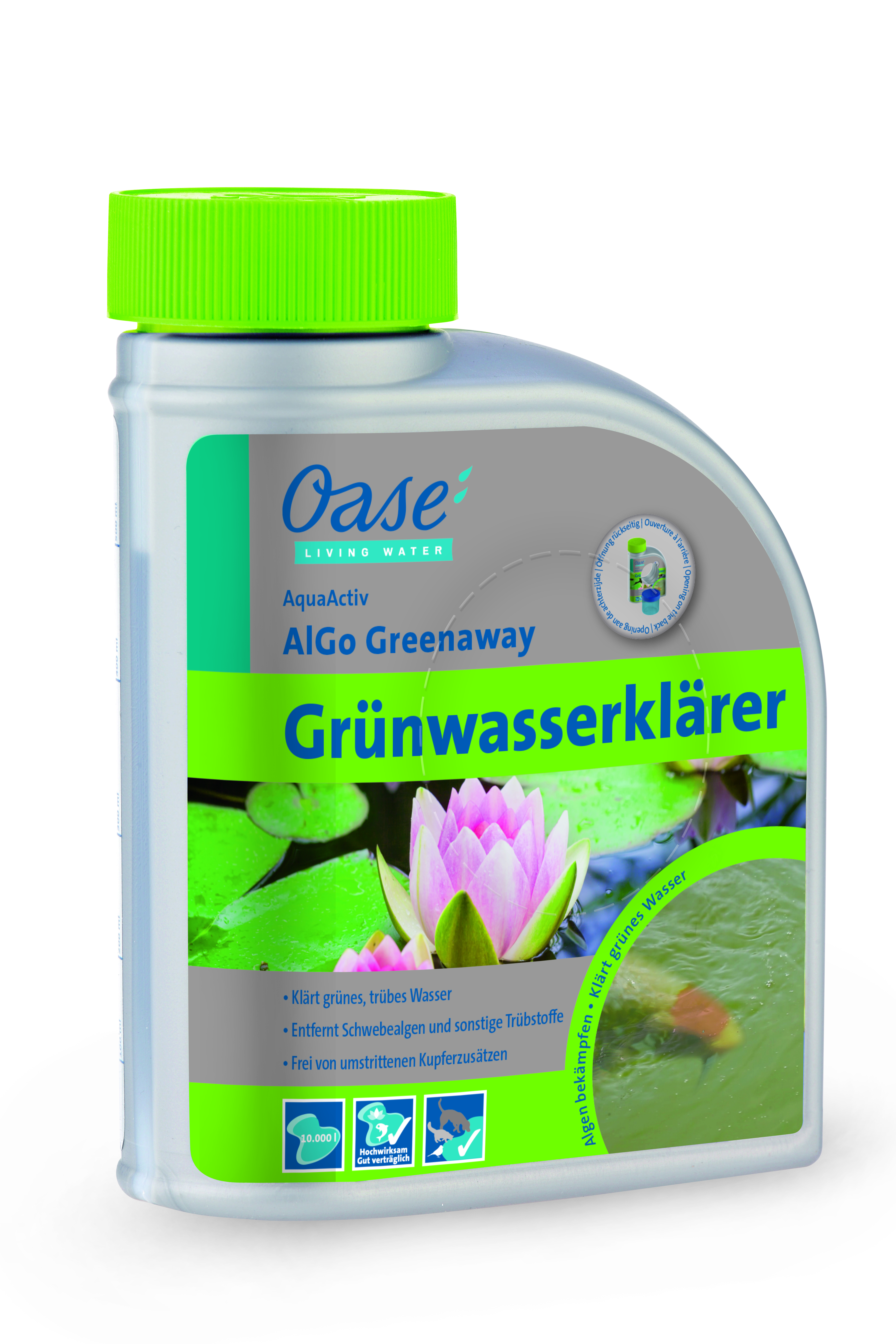 oase aquaactiv algo greenaway 500 ml teichundgarten24. Black Bedroom Furniture Sets. Home Design Ideas
