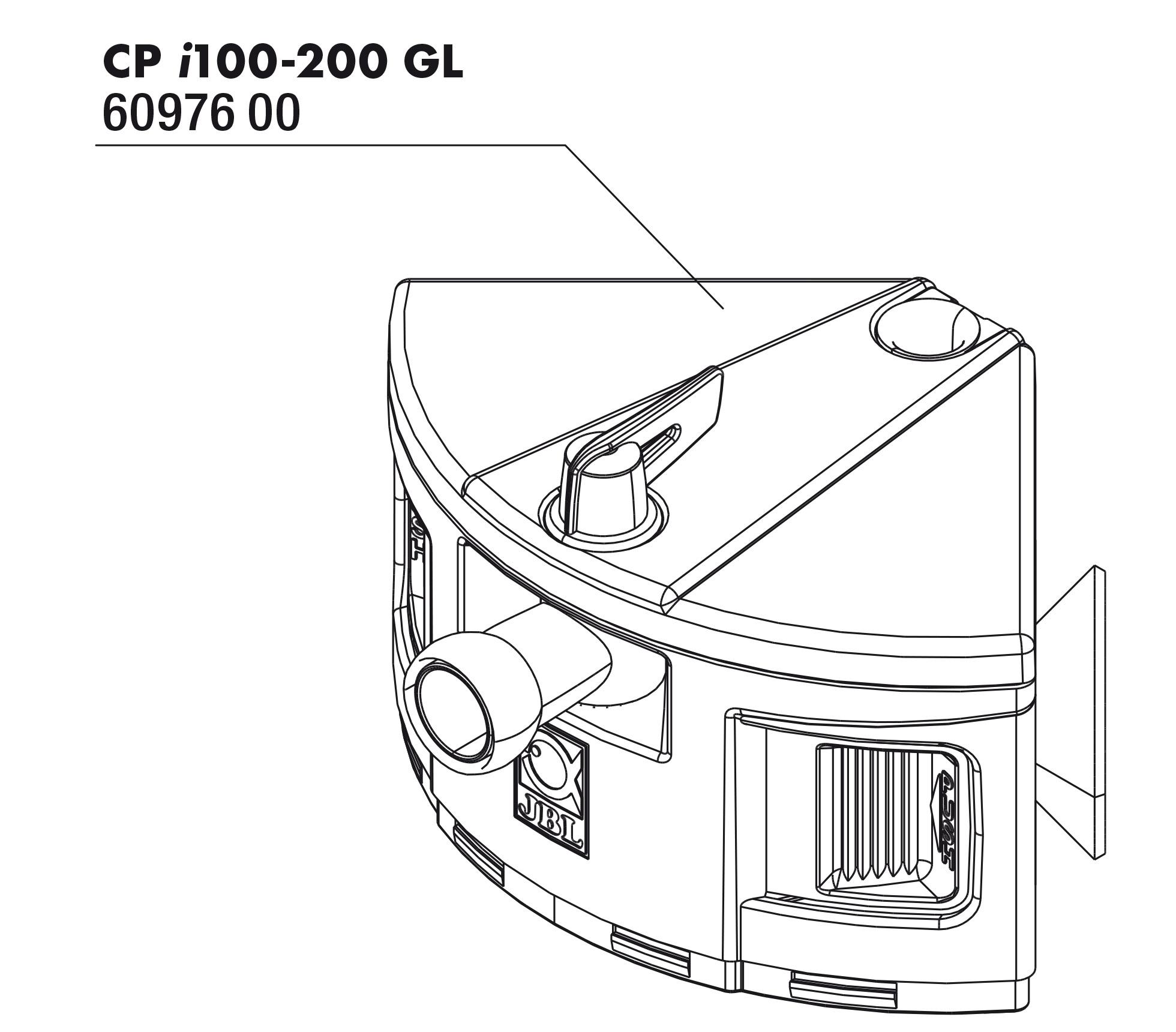 JBL CP i_gl 100/200 Pumpenkopf
