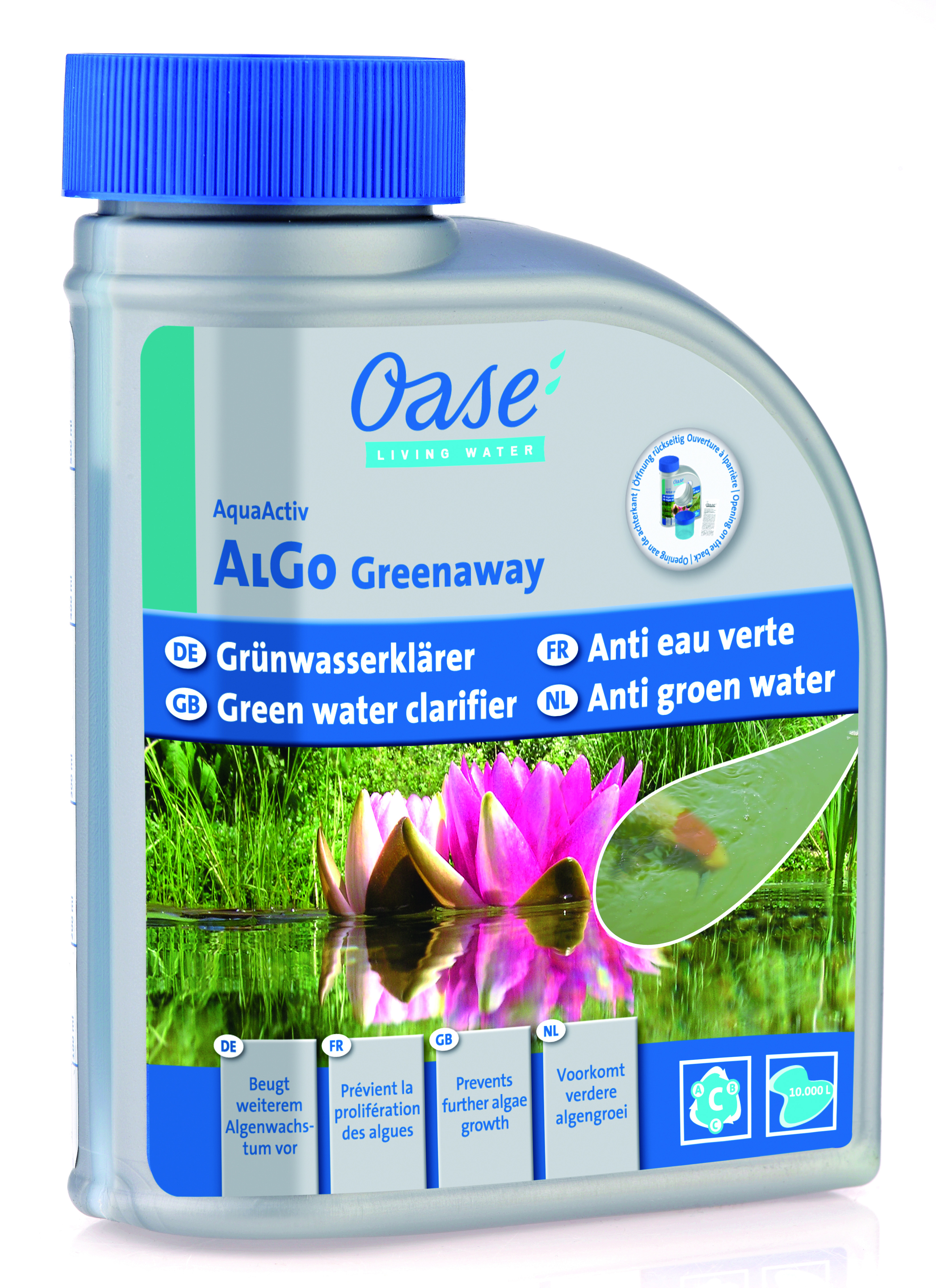 oase aquaactiv algo greenaway 500 ml ebay. Black Bedroom Furniture Sets. Home Design Ideas